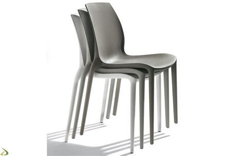 sedie impilabili sedia da esterno impilabile hidra di bontempi arredo