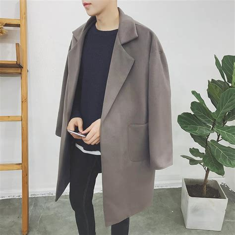 Trench Jacket Black Korean Style 2017 korean style winter j end 3 30 2019 12 15 pm