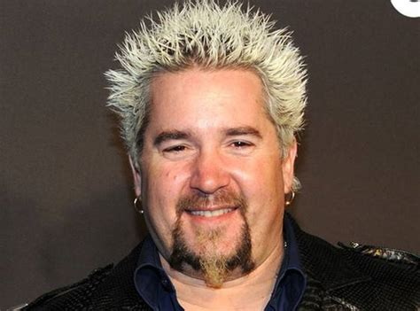 mens frosted hair this photo of guy fieri without his crazy blond hair will