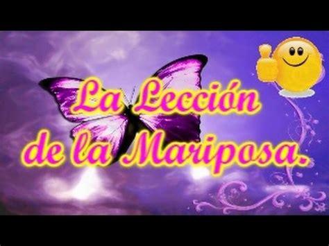 imagenes con mariposas y reflexiones la leccion de la mariposa historias de reflexion cuentos
