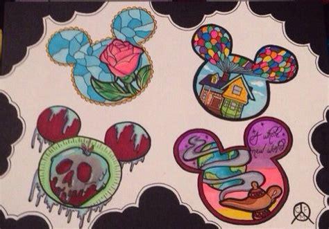 tattoo junkee disney art items similar to disney tattoo designs art on etsy