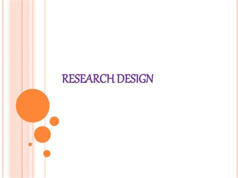 research design powerpoint slides research design ppt 1