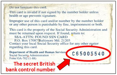 back of social security card template the secret code that controls your destiny jones