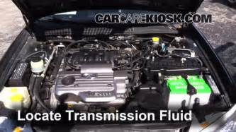 Nissan Maxima Transmission Fluid Transmission Fluid Level Check Nissan Maxima 1995 1999