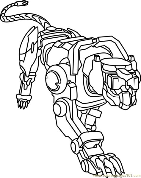 voltron lions coloring pages printable coloring pages