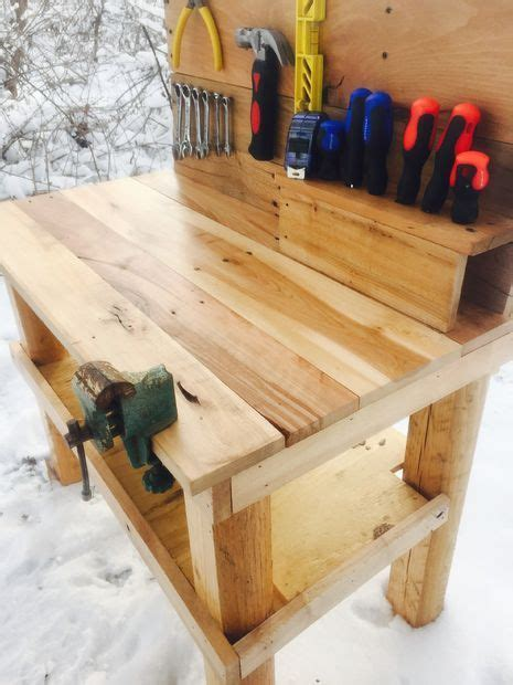 kids pallet workbench diy pallet furniture