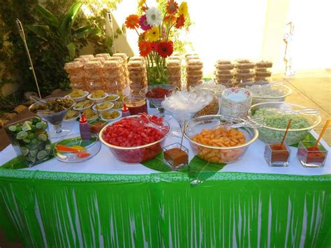 Snack Table Ideas by Mexican Snack Bar Table Partie Partito Mexican Snacks Mexicans