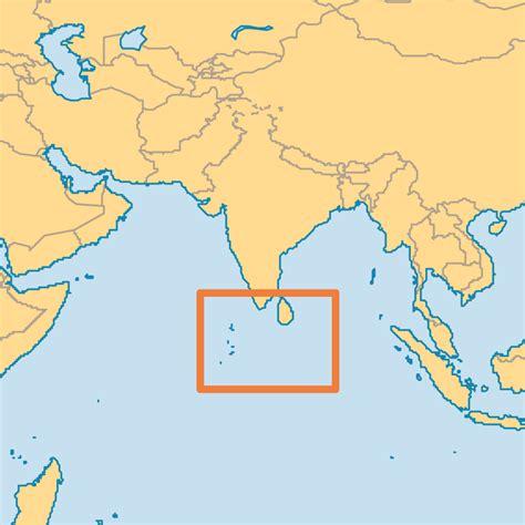 maldives map world
