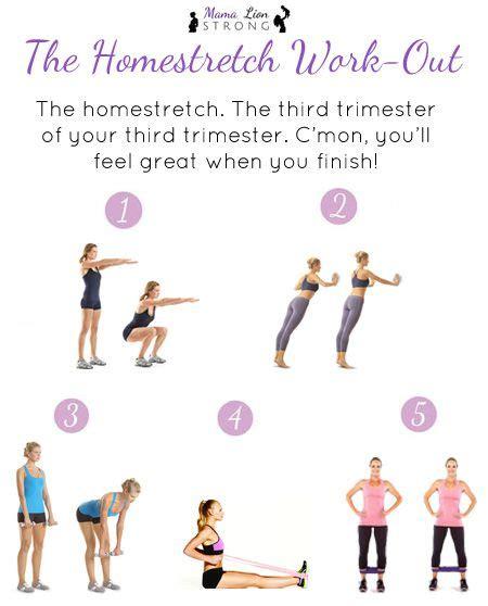 best 25 third trimester workout ideas on