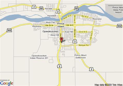 Criminal Record Check Prince Albert Map Of Days Inn Prince Albert Prince Albert