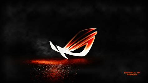 wallpaper republic of gamers 4k uhd 4k asus rog logo heated metal 1840