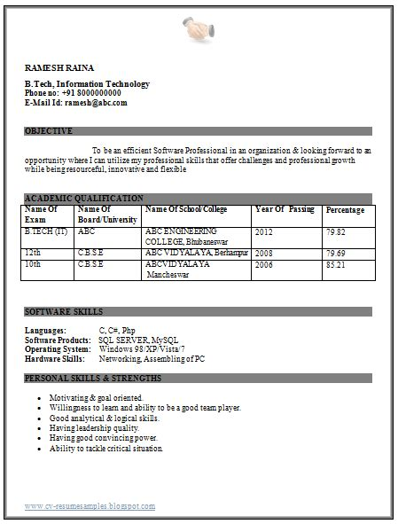 Resume Format For Freshers B Tech Aeronautical Resume Format For 12th Pass Buy A Essay For Cheap Attractionsxpress Attractions Xpress