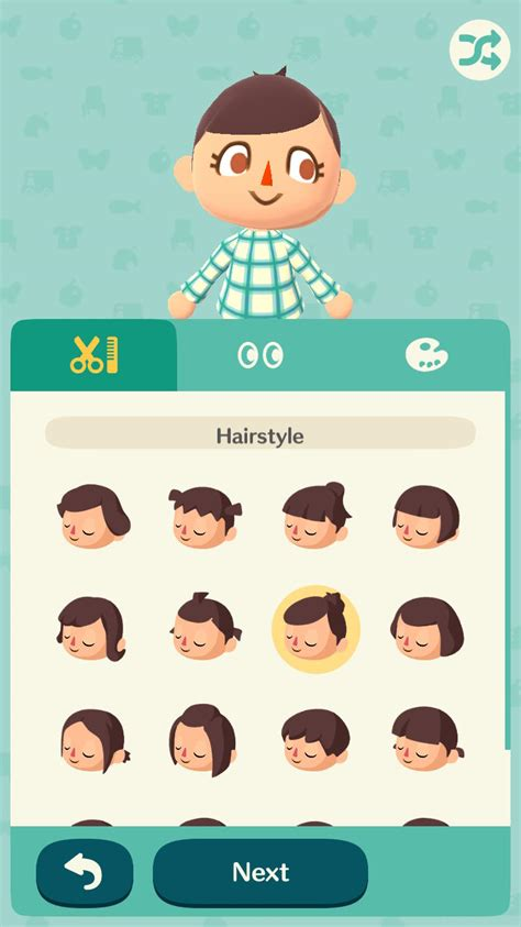animal crossing new leaf shoodle hair for girls acnl hair combinations animal crossing new leaf shoodle
