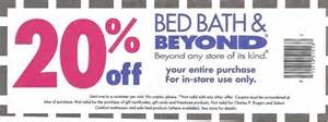 Bed Bath 20 Bed Bath And Beyond Coupon Codes April 2015