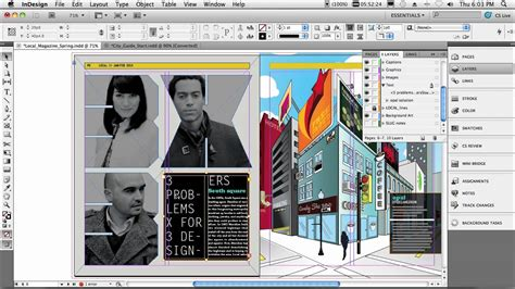 layout adobe indesign adobe indesign cs5 my top 5 favorite features youtube