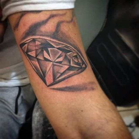 black diamond tattoo designs 70 diamond tattoo designs for men precious stone ink