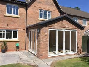 sunroom extension sun room extension with bi fold doors mcknight sons