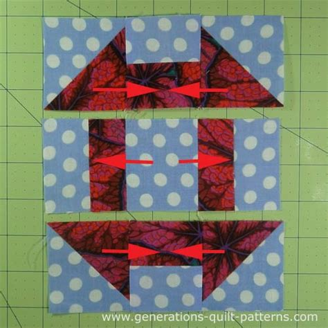 Churn Dash Quilt Block Pattern by Churn Dash Quilt Block Tutorial 3 Quot 4 1 2 Quot 6 Quot 7 1 2