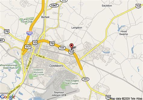goldsboro carolina map map of comfort suites goldsboro goldsboro