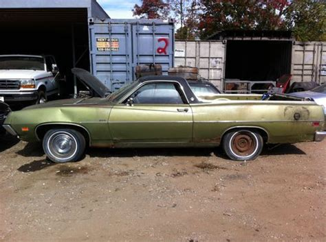 ford ranchero parts buy used 1971 ford ranchero 500 5 8l parts or restore in