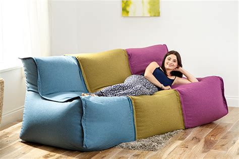 modular bean bag sofa modular sofa beanbag lounger bean bag couch seating kids