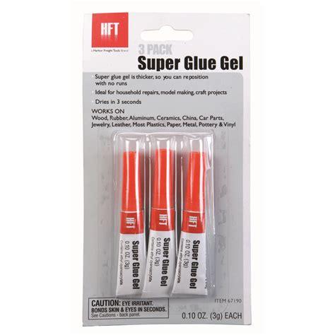 super glue gel  pack