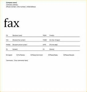 12 how to write a fax cover sheet basic appication