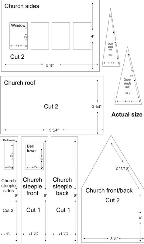 61 Best Images About Gingerbread House Printable Template On Pinterest Ginger Bread House Church Templates