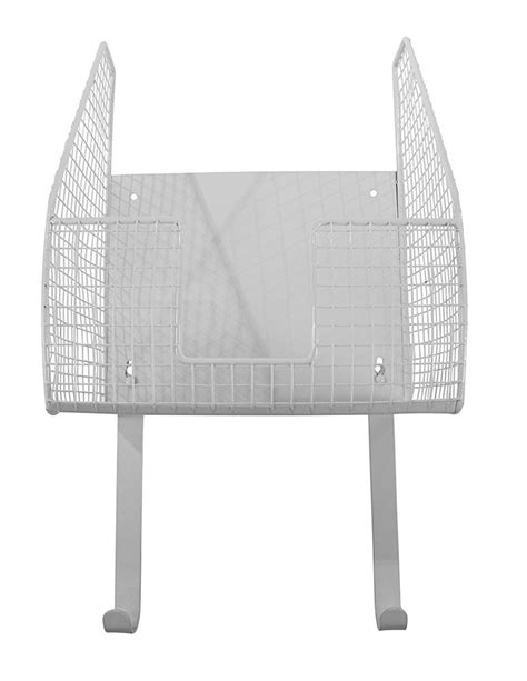 wall mount iron and ironing board holder white in iron