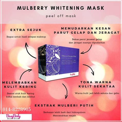 busybody peel  mask mulberry multi herbs