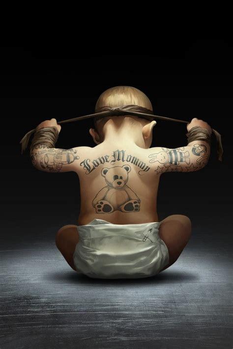 bebe tatouage image  logo anime gratuit pour votre mobile