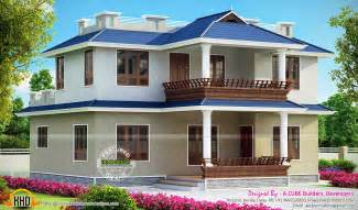 Bedroom double storied kerala home kerala home design siddu buzz