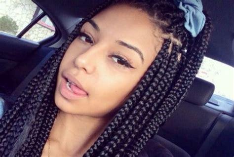 hair desings with plated hair 10 box braids hairstyles for black women womensok com