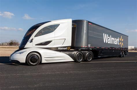 concept semi truck walmart advanced vehicle experience concept interior
