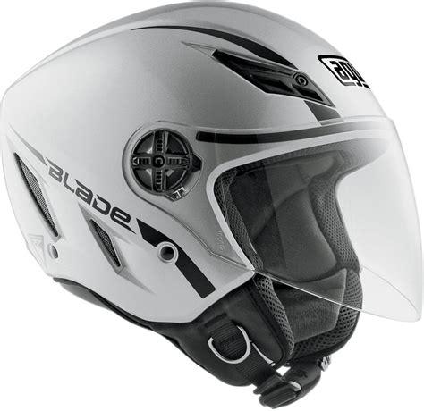 Helm Agv Sword Agv Blade Mono Open Helmet Silver