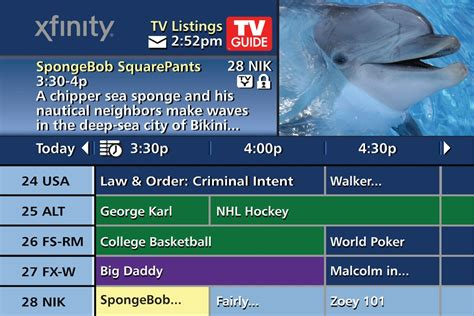 my xfinity tv guide how to fix time zone cable operators buff up guides for internet age long