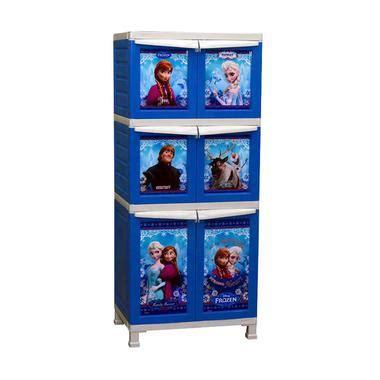 Lemari Plastik Gambar Frozen jual napolly lemari plastik frozen harga