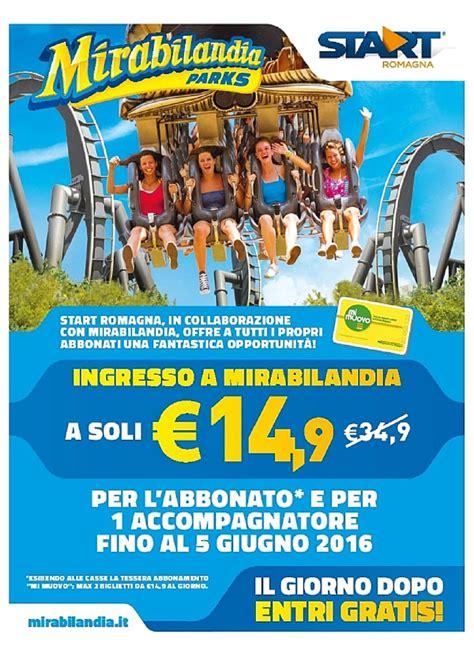 mirabilandia ingresso prezzo mirabilandia a 14 90 con start romagna mirabilandia forever