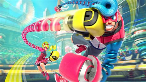 Nintendo Switch Arms arms is a fighter for nintendo switch polygon