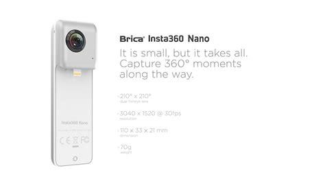 Brica Insta360 Nano Vr For Iphone 66s Brica Insta 36 brica indonesia official site