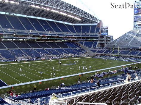 what sections are covered at centurylink field centurylink field section 214 seattle seahawks