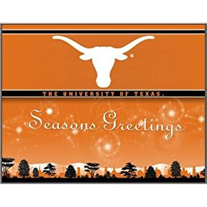 amazoncom texas longhorns holiday greeting cards sports outdoors