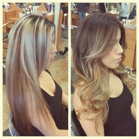 best toner for highlighted hair 165 best images about hair on pinterest ombre hair color long hair and dark brown