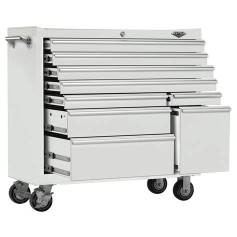 viper tool storage 41 inch 9 drawer 18g steel rolling