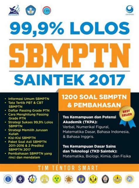 Buku Mantap Lolos Sbmptn Ipa Saintek bukukita 99 9 lolos sbmptn saintek 2017