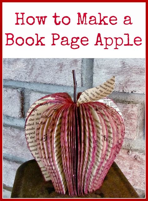 How Do You Make A Book Out Of Paper - how to make a book page apple hymns and verses