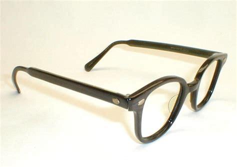 antique eyeglass frame glass