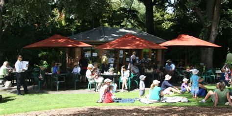 Geelong Botanic Gardens Tea House Melbourne Botanical Gardens Melbourne Cafe
