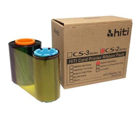 Ribbon Hiti Cs 200e Color Ymcko 400 Images Hiti Cs 2 Ymcko 400 Images Ribbon For Cs 200e Printer