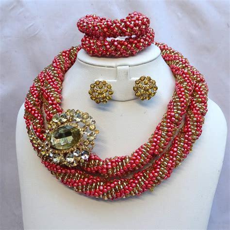 nigerian latest bead design latest design layers african nigerian wedding beads set